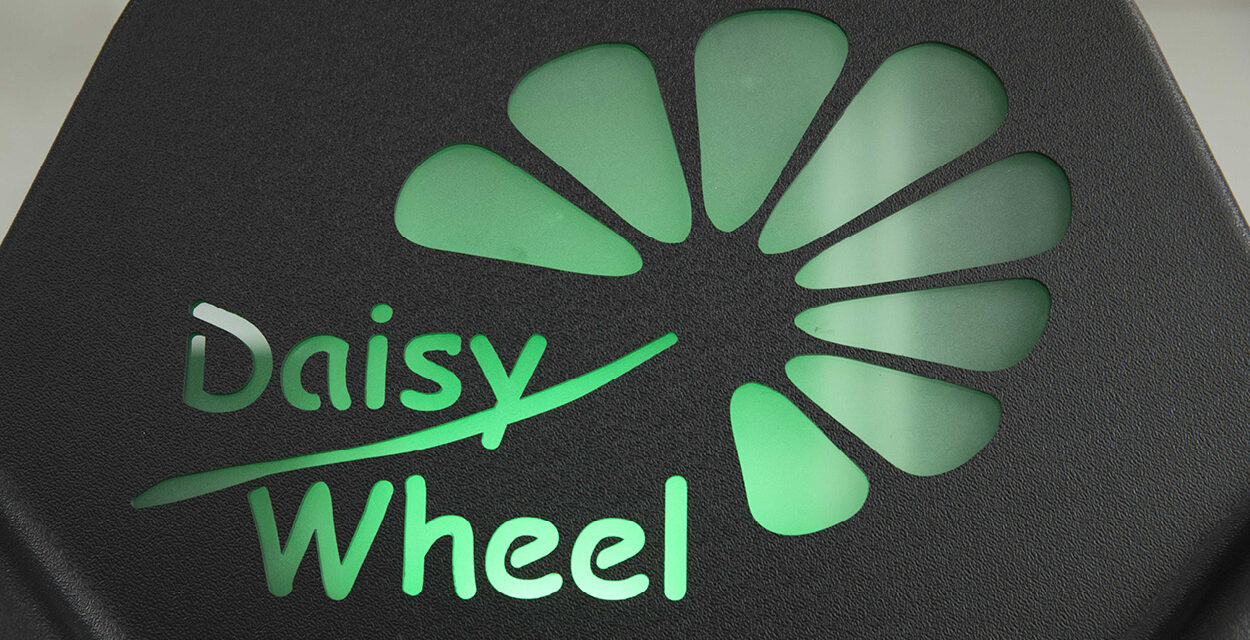 Daisy Wheel 3.0 mischt vollautomatisch